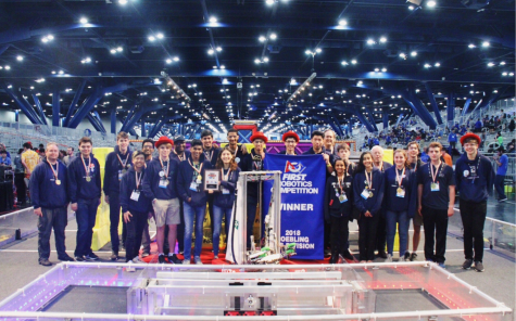 Robotics win in world championship subdivision marks historic season
