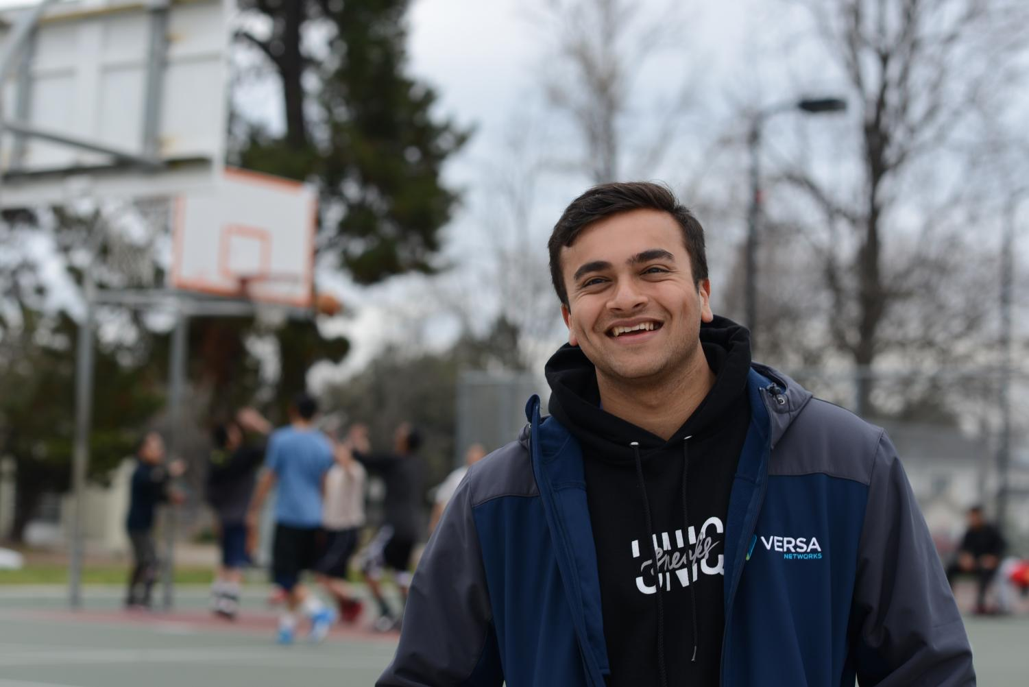 """This is like a melting pot of Cupertino, Lynbrook, Saratoga, some people from De Anza, so you meet all kinds of people,"" Rahul Mehta (12) said. ""Half the time I'm not even playing with my friends, so I'm playing with random people. You start off in the beginning a bit wary of each other, and then by end you're playing like they're your friends. It's kind of gradual. Like after a really cool play, you'll high five each other, and that's how it all begins."""