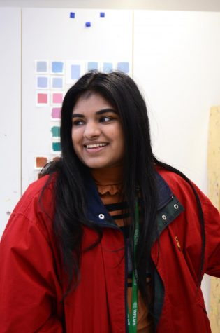"""I found out very early on that I wanted to be an art major of sorts,"" Raveena Panja (12) said. ""I'm a game design major now, but it took me a while to come to that path. I was surrounded by a lot of people that didn't quite understand why I wanted to do art in spite of going to a very STEM school. I think the fact that most people didn't take me seriously for wanting to do art here propelled to me want to do it more and gave me more confidence. If everybody else thought I couldn't do it, it was all the more reason to do it."""