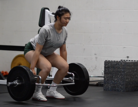 """People are always debating, you know, 'should I go up to a higher weight or not?' And I'll just yell, 'do it, you won't,'"" Tiffany Shou (12) said. ""And then, you know, it's like that challenge, and so it always pushes them pick that higher weight, and then they can accomplish it, so it's even more gratifying."""