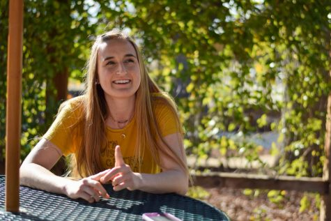 """I can be serious, and I care a lot about a lot of things, but I also just like having fun and people feeling comfortable being their true selves,"" Isabella Spradlin (12) said. ""You don"