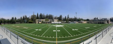 Davis field replaced, football team adapts