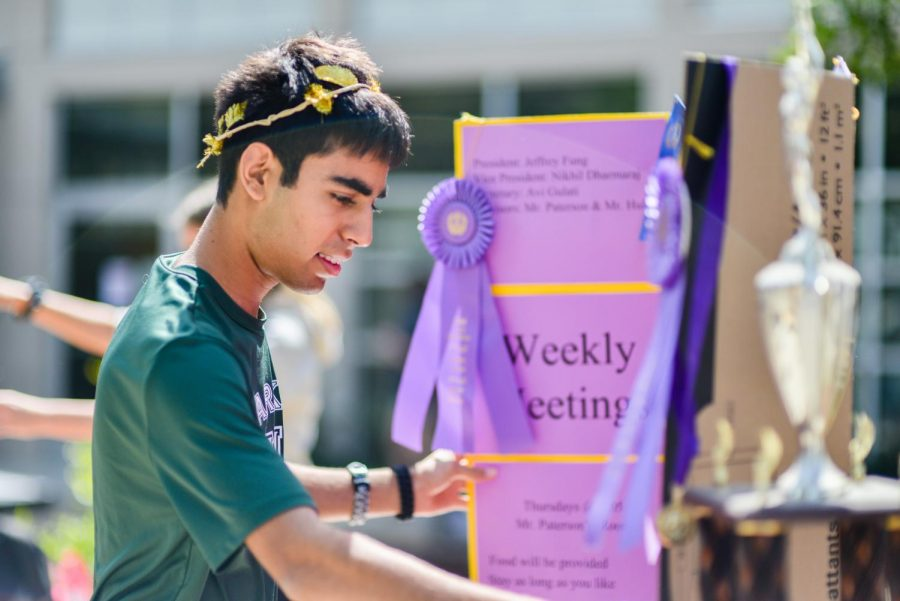 Campus organizations invite students to join in annual Club Fair