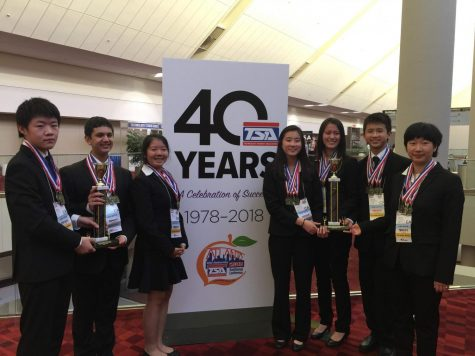 Harker teams win awards at national TEAMS competition