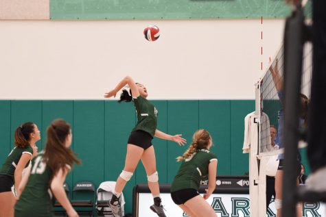 Varsity girls volleyball wins CCS quarterfinals, advances to semifinals