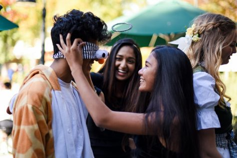 Upper school celebrates Halloween with colorful costumes, spirit contests