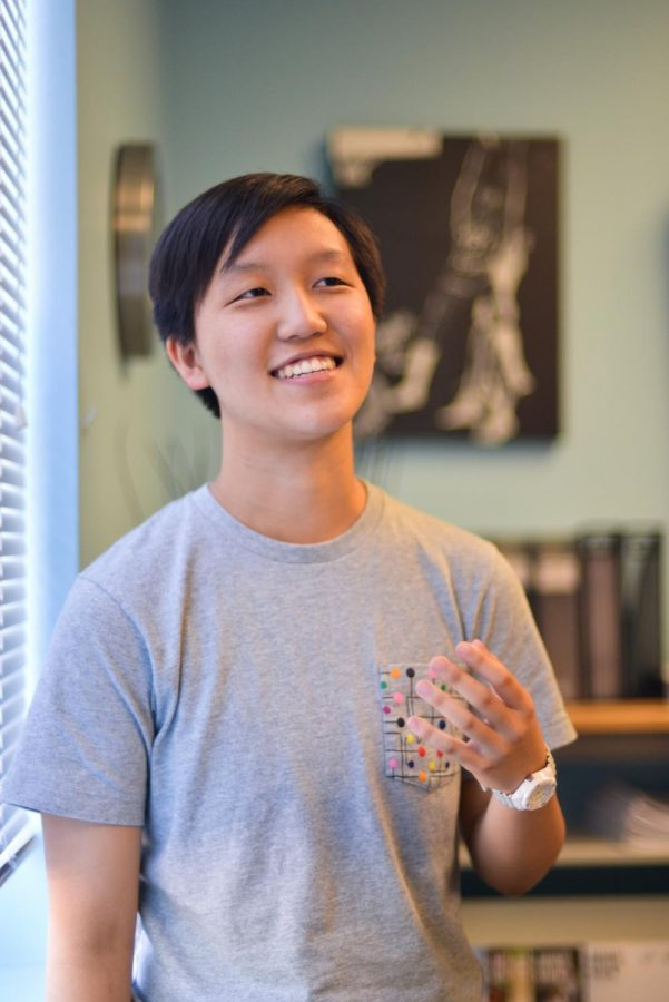 """I think you have to measure your impact and what you've done for other people–to know that you're doing good with what you're doing. You have to create a world for yourself, with your actions, that you would want to live in,"" Ryan Guan (12) said. ""For myself, I want to have something that I strive for– and that's making a difference."""