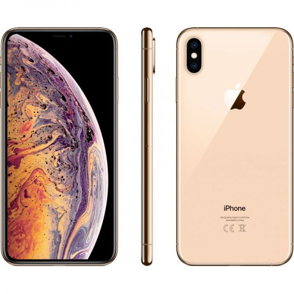 The iPhone XS Max, pictured here in its gold color, arrived in stores on Sept. 21. Some new features include a 6.5-inch screen, which is the biggest yet on an iPhone, depth control in Portrait mode, and an A12 Bionic chip.