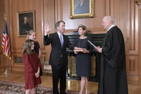 Kavanaugh sworn in as 114th Supreme Court justice after 50-48 Senate vote