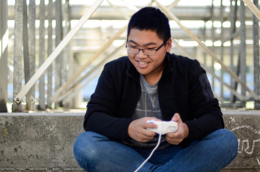 """""""There's been lots of things to deal with [this year], and I feel like at the same time these changes and these things to deal with are a transformative experience. It makes you really think about who you really are and what you want to do,"""" Ben Yuan (12) said."""
