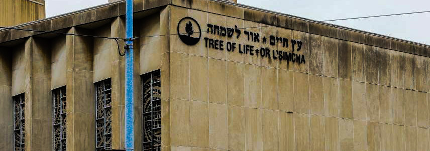 The Tree of Life – Or L'Simcha Congregation, a synagogue in Pittsburgh, where a man shot and killed 11 people on Oct. 27. The suspect was charged with 29 federal crimes.