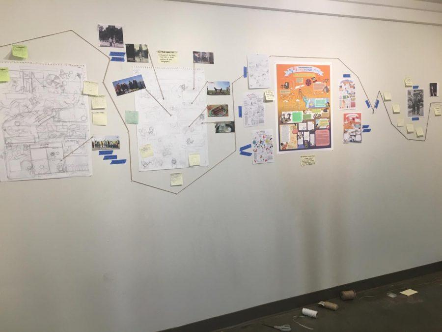 Catherine Wang (12)'s art exhibit,