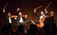 Miró Quartet brings the strings to upper school Concert Series