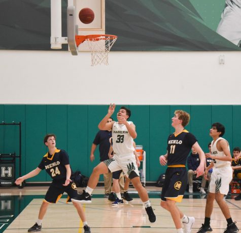 Varsity boys basketball falls to Menlo