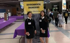 Freshmen researchers reflect on engineering project to test types of biodegradable material