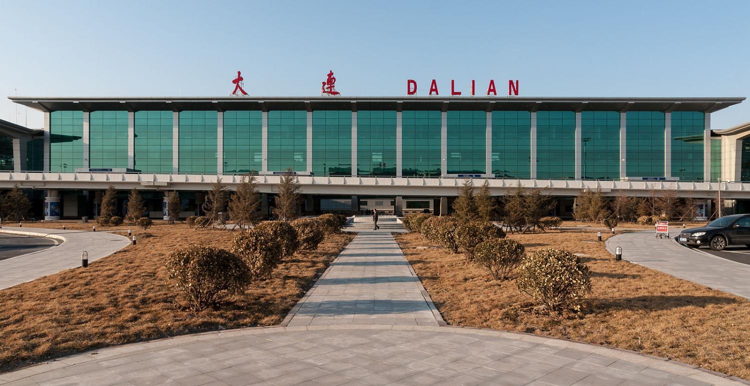 Dalian International Airport, such as several other airports in China have imposed restrictions on travelers with
