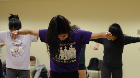 Student choreographer conveys strength and empowerment through her dance