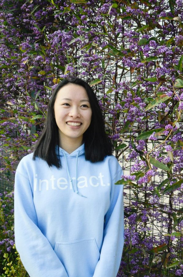 """""""It's worth it to me because then I can see as kind of a leader how other people get involved in this and how they also fall in love with Interact...seeing more positive actions going out into the world is really cool, Ashley Jia (12) said."""