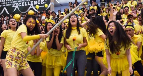 Students dance and compete in spirit rally to conclude Spirit Week