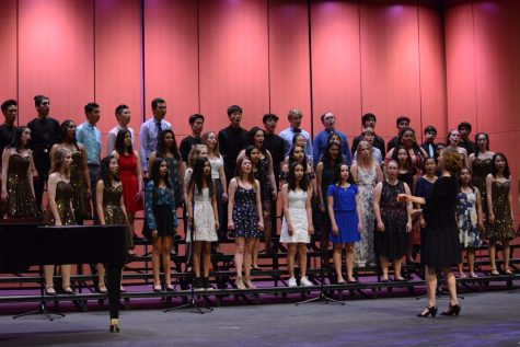 Upper school vocal ensembles celebrate nature in eco-music choral concert