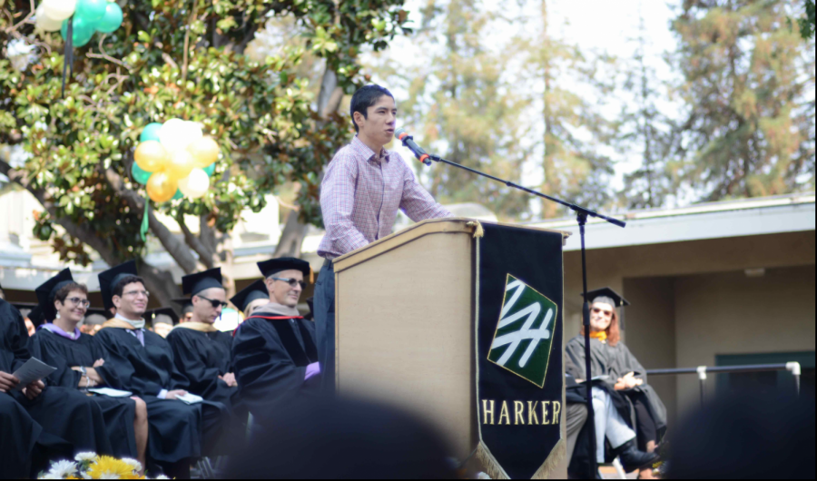 Former+ASB+president+Sandip+Nirmel+%28%2717%29+makes+a+speech+at+matriculation+in+2016.+The+Harvard+Crimson+reported+Friday+that+Sandip%2C+who+was+a+sophomore+at+Harvard+University%2C+died+of+%22an+extended+illness%22+on+Thursday.
