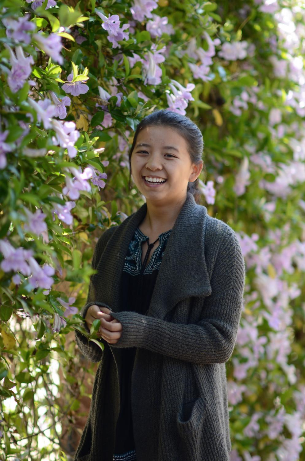"""Some of my friends are a lot more social than me, but they've pushed me to open up and try new things,"" Laura Wu (12) said. ""I'm kind of sad that I'm leaving the school, but in some ways, I'm excited because I'm going to be starting over in a new place and meet even more new people."""