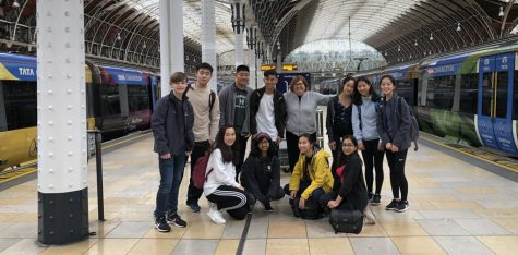 Eleven students traveled with director of journalism Ellen Austin to London for ten days of photography course and practice.