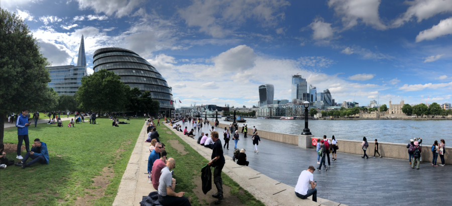 The City Hall of London is the headquarters for the mayor, Sadiq Khan, and the city's 25 assembly members, who represent the Greater London Authority (GLA). The building was principally designed by Norman Foster and is located on the River Thames in the London borough of Southwark.
