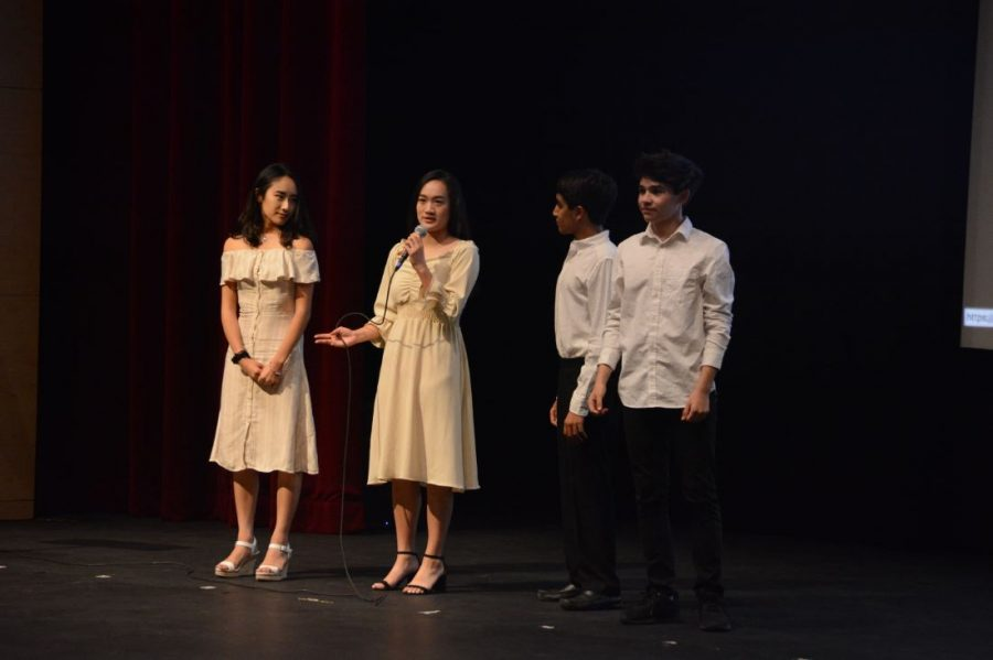 The 2019-20 Student Directed Showcase (SDS) directors talk to audience members about their visions for the upcoming year. SDS is an opportunity for students to try directing other students.