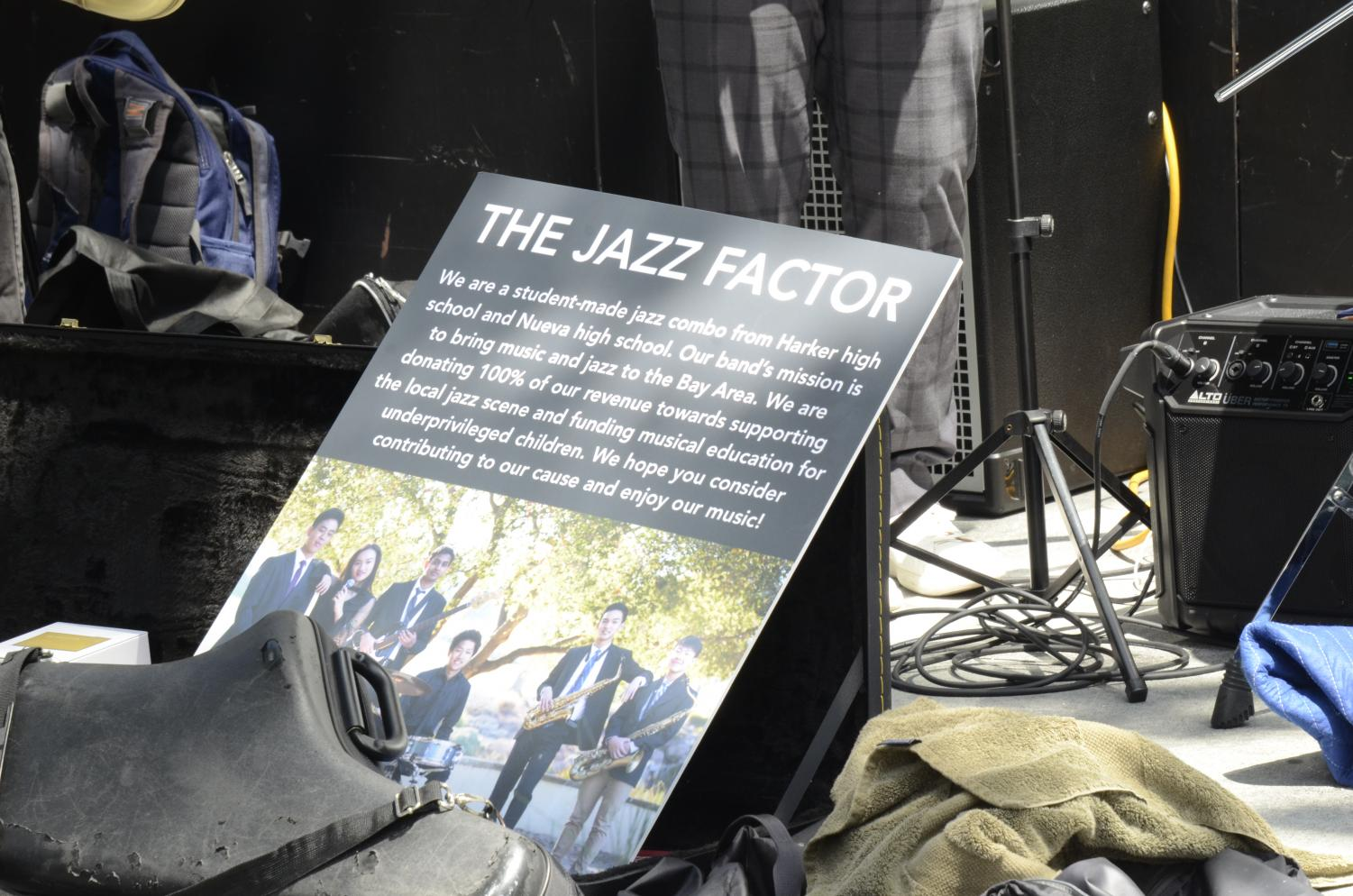 The+Jazz+Factor+performed+in+front+of+Glass+House.