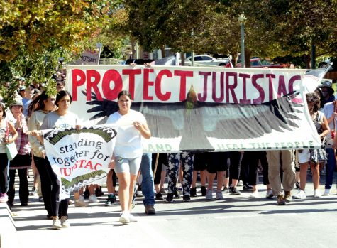Local tribe protests Santa Clara County mining operation