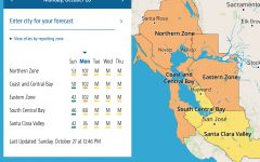 Spare the Air forecast for tomorrow's air quality in the San Francisco Bay Area