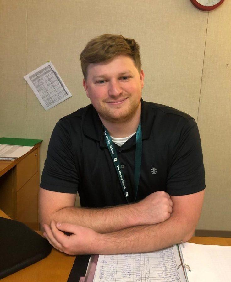 Scott Engelhardt, the new attendance coordinator.
