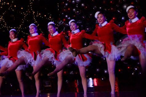"The Harker Dance Company dances to ""Jingle Bells"" by Gwen Stefani at this year"