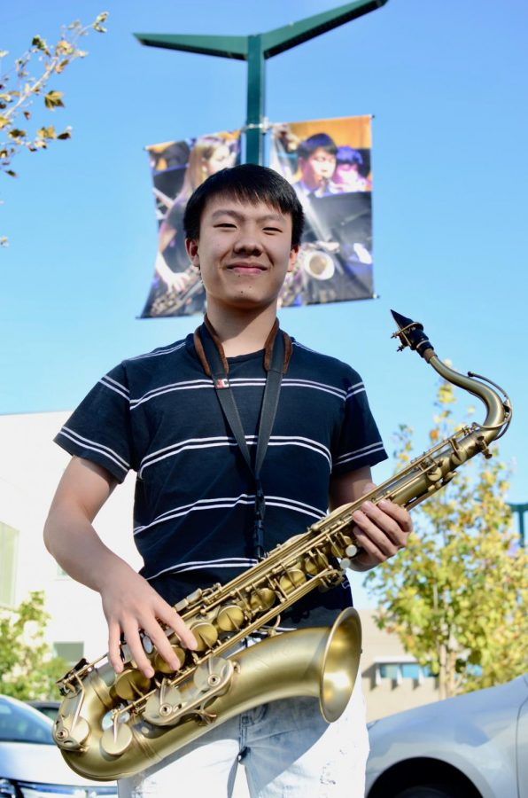 """Jazz is all about improvising mainly, and when you improvise, it's your voice and your melodies and your notes that you play. If I'm in a certain mood or if I'm feeling a certain sort of way, I would play catered to that. I play my style catered to that tone,"" Brendan Wong (12) said."