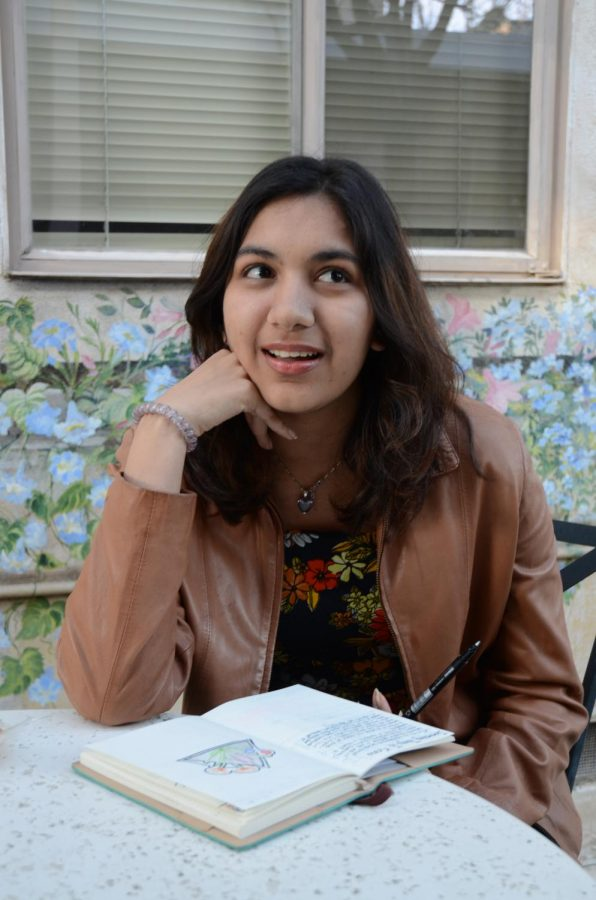 """""""In the same way that language might shape our perceptions, our biology shapes who we become, and thats so fascinating to me,"""" Sana Pandey (12) said."""