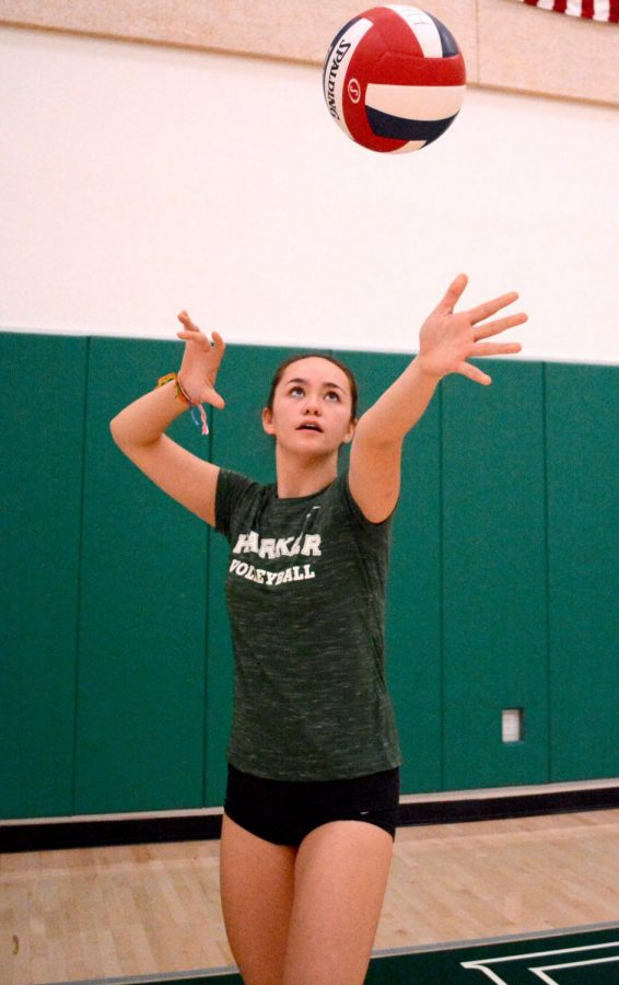 """""""I realized that this isn't really who I am and that I wanted to express who I was to other people. I just gained this newfound sense of confidence, and especially in volleyball ... I think it's given me a lot of confidence to be able to express myself in my own way,"""" Lauren Beede (12) said."""