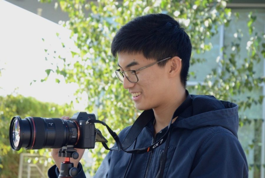 """When people see my work, I want them to live my experiences and learn a thing or two, whether it's how to become a better person or just seeing things from a different perspective,"" Matthew Jiang (12) said."