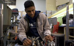 """[Leading robotics] has been just like the same attitude I've approached everything [with] recently. It's taught me that most people don't actually know what they're doing, and it's the people that are willing to admit that they don't know what they're doing and try to learn that do the best,"" Sanjay Rajasekharan (12) said."