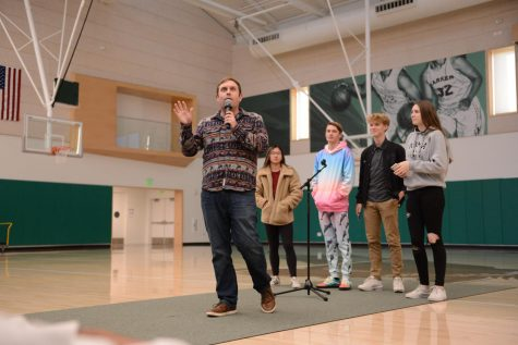 "School meeting recap 1/24/2020: ""Little Red Wagon,"" Valentine's grams, and sports senior nights"