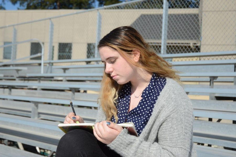 """""""Over the years, I've learned how to manage my time more … and take advantage of teachers' help, which has actually been really useful. But [I] learn[ed] that it's okay to not be great at everything and it's okay to ask for help when you need [it],"""" Sofie Kassaras (12) said."""