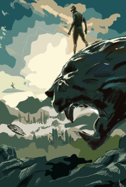 Black Panther tells the story of T'challa's (Chadwick Boseman) fight and fury through Wakanda and beyond.