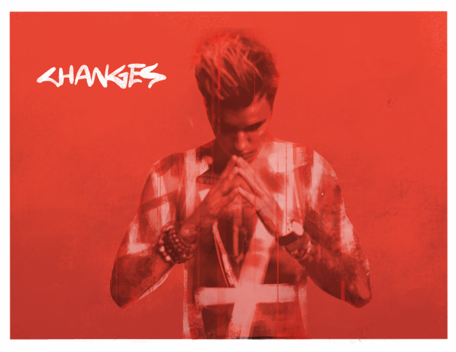 An+edit+of+Justin+Bieber%27s+%22Changes%22+and+%22Purpose%22+albums.+%E2%80%9CChanges%E2%80%9D+dropped+on+Feb.+14+with+17+tracks+and+six+collaborations.