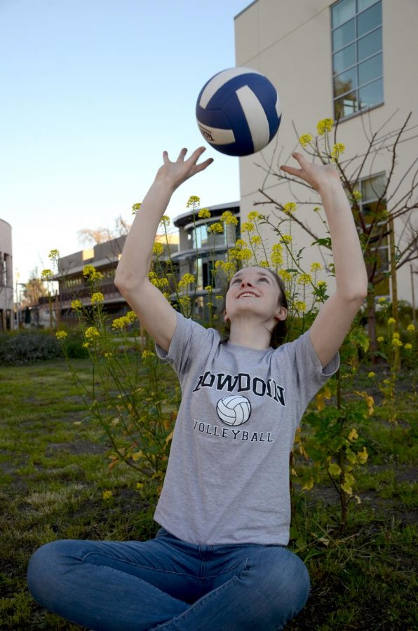 """""""I'd never expected to play volleyball at the collegiate level [or] to be on the club volleyball team that I'm on now, because when I was younger, whenever we played this team, we'd get nervous and think, 'Wow, that's Vision! That's the top team!' But now I'm playing with these girls, this is my team, and it's so surreal,"""" Ashley Jazbec (12) said."""