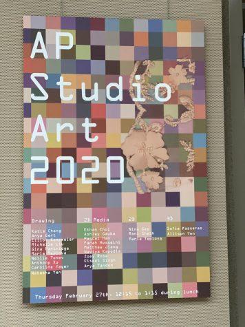 AP Studio Art Exhibit showcases diverse student artwork