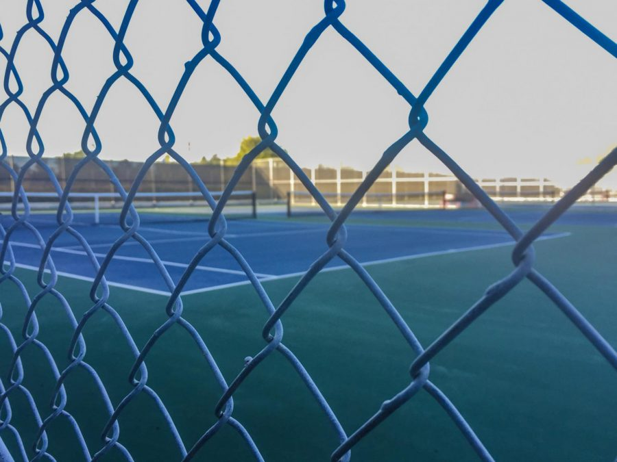 The+tennis+courts+at+Westmont+High+in+Los+Gatos+remain+locked+up.+%E2%80%9CIt%E2%80%99s+sort+of+hard+to+transition+from+playing+tennis+every+single+day+to+just+not+doing+anything+and+sitting+around%2C%E2%80%9D+varsity+tennis+co-captain+Ramanand+Vegesna+%2812%29+said.+%E2%80%9CSometimes+when+you%E2%80%99re+doing+your+own+workouts+it%E2%80%99s+hard+to+stick+to+something+and+you+kind+of+get+lost+in+what+you+want+to+work+on%2C+so+I+think+%5BVolt+is%5D+a+really+good+tool%2C+and+people+who+don%E2%80%99t+have+a+lot+of+experience+working+out+can+use+it+and+figure+out+what+exercise+they+want+to+do.%E2%80%9D