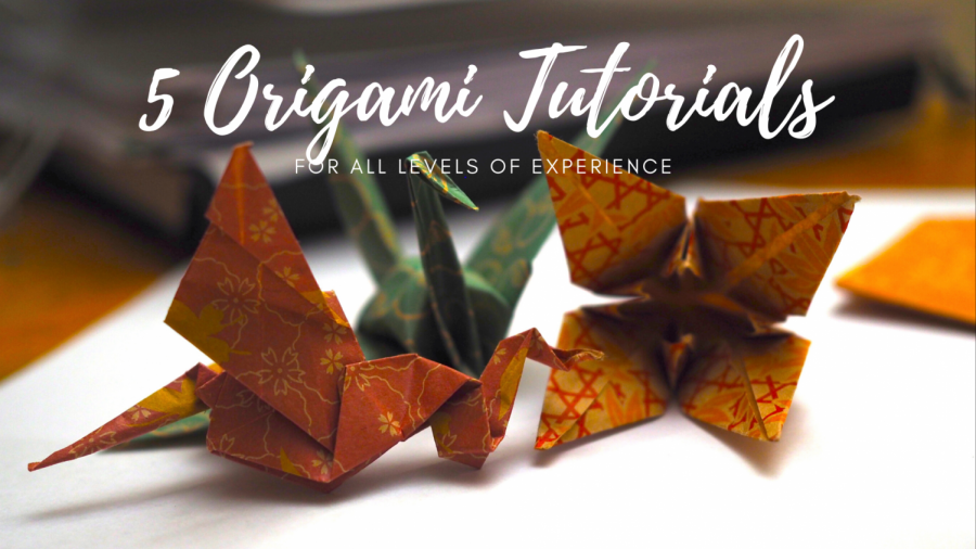 A collection of origami designs to create. Trying out the tutorials to make these are the perfect way to keep busy during shelter-in-place.