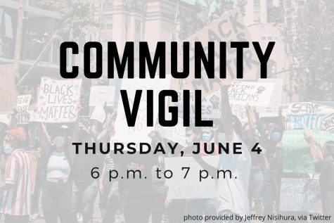 Community vigil and town hall meeting regarding protests to take place