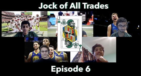 From Harker Aquila, Jock of All Trades is a sports podcast hosted by Kushal Shah (12), Muthu Panchanatham (11), Vishnu Kannan (11) and Saurav Tewari (11), and edited by Michael Eng (12). In this episode, hear the quartet discuss the NBA finals and interview junior Pranav Varmaraja, a safety and wide receiver on the Eagles football team.