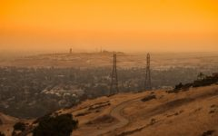 The Bay Area Sky turned shades of orange and yellow in September of 2020 due to the fires ravaging the state.
